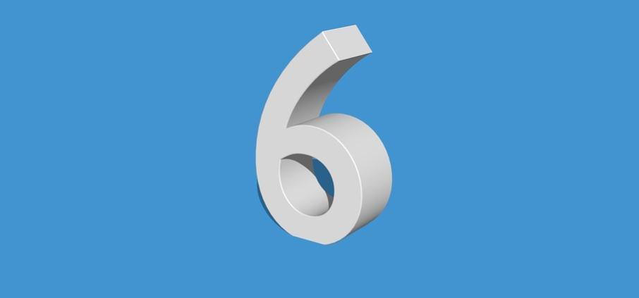 Numerologi 6: Nummer Betydelse och kärlek