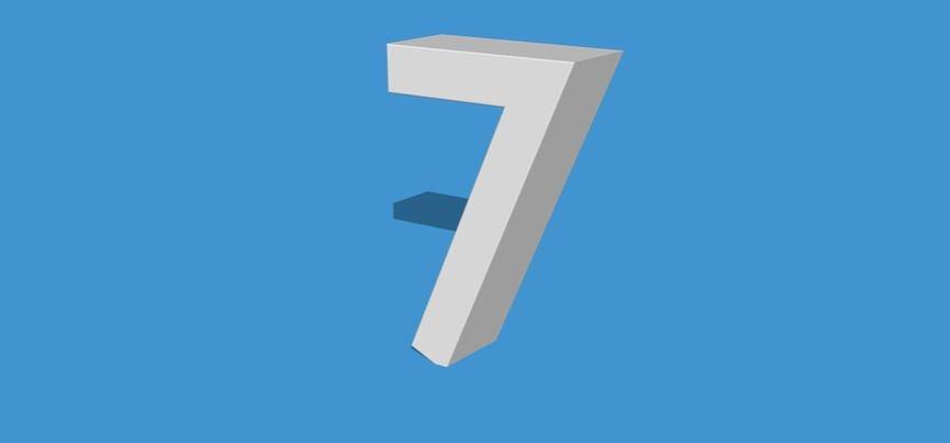 Numerologi 7: Nummer Betydelse och kärlek