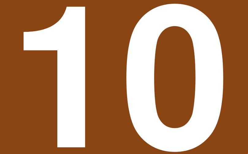 Numerologi 10: Nummer Betydelse och kärlek