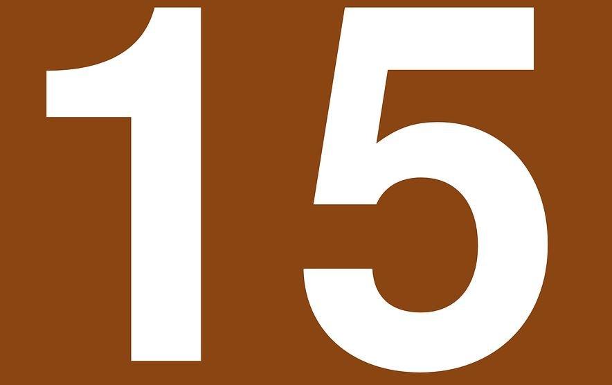 Numerologi 15: Nummer Betydelse och kärlek
