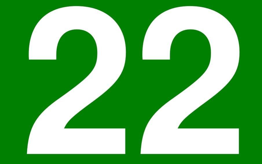 Numerologi 22: Nummer Betydelse och kärlek