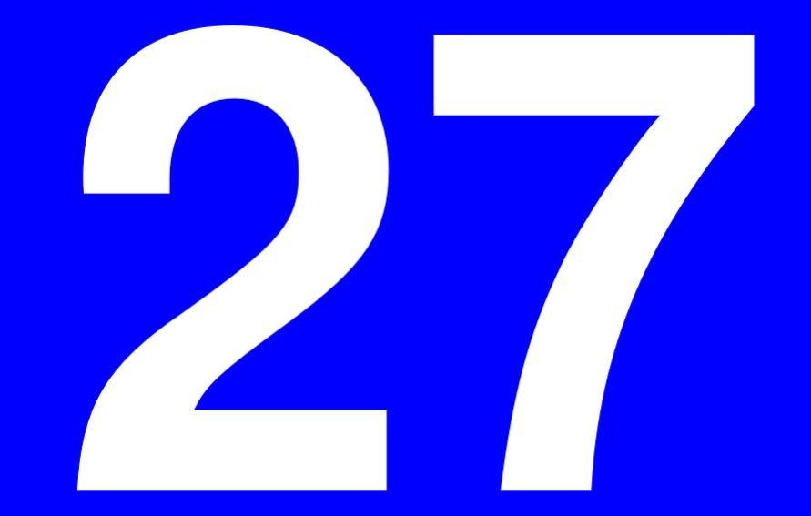 Numerologi 27: Nummer Betydelse och kärlek