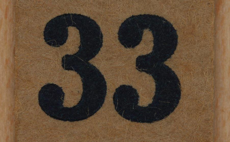 Numerologi 33: Nummer Betydelse och kärlek