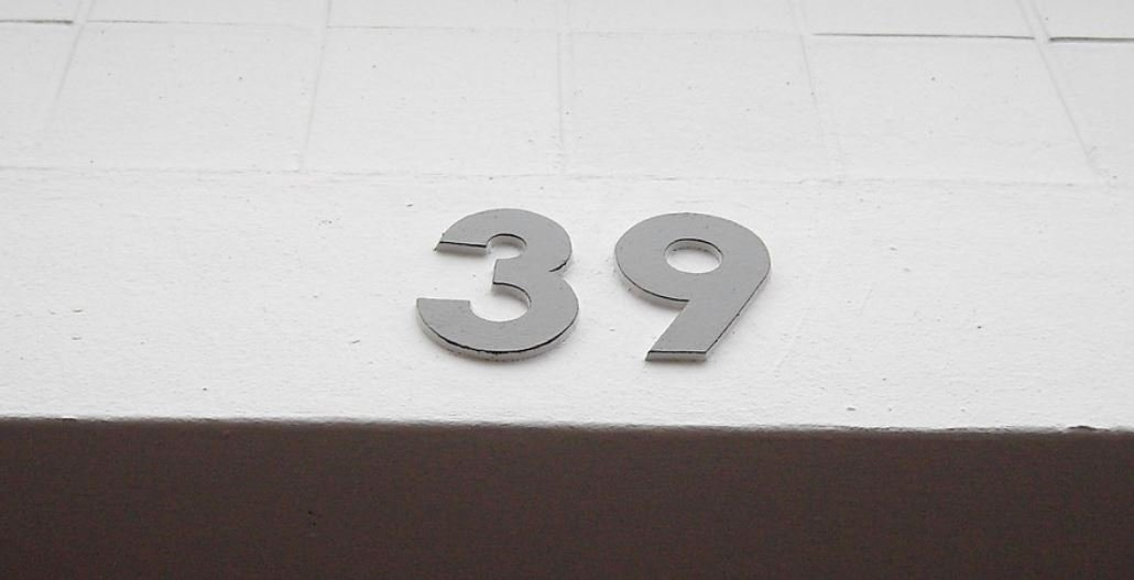 Numerologi 39