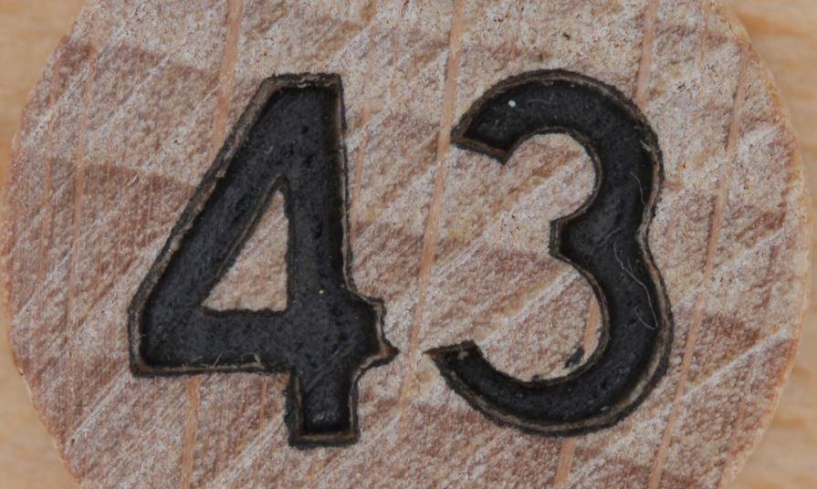 Numerologi 43