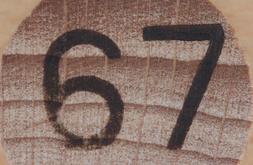 Numerologi 67