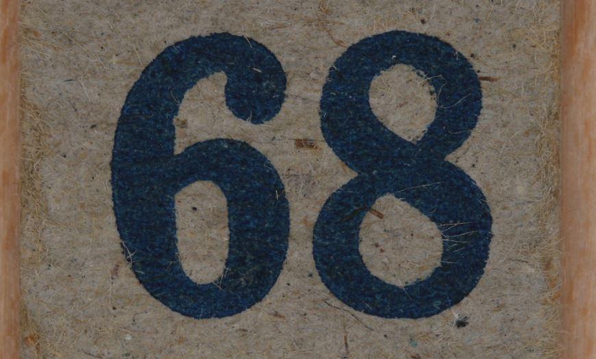 Numerologi 68