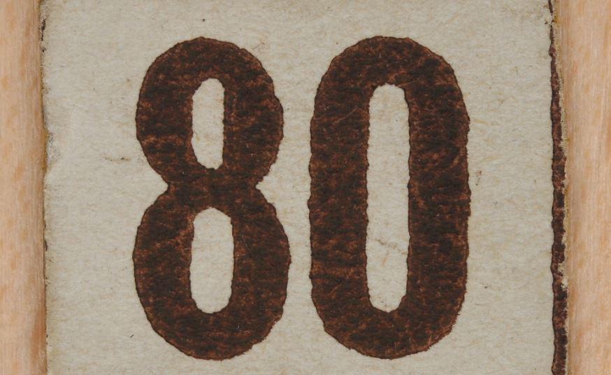 Numerologi 80