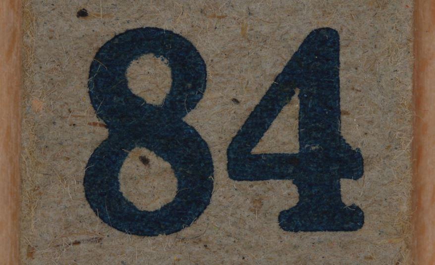 Numerologi 84