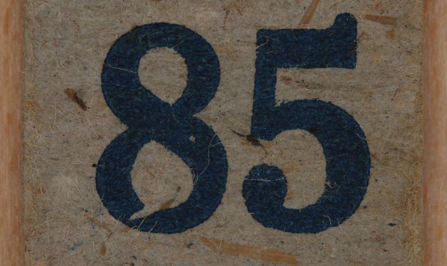 Numerologi 85