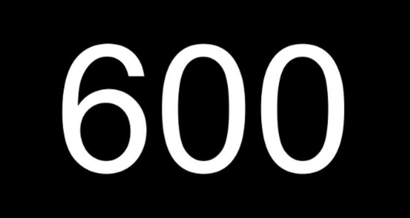 Numerologi 600