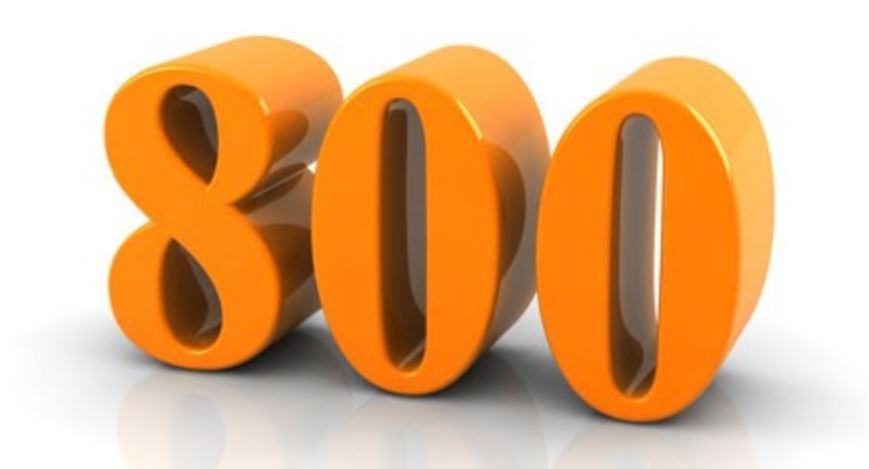 Numerologi 800