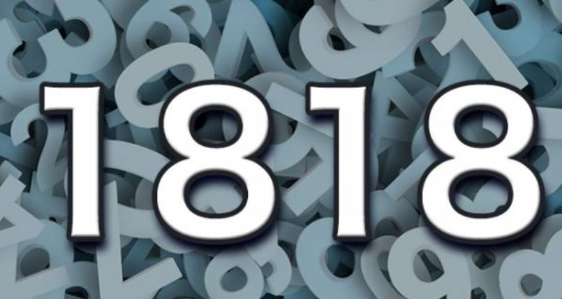 Numerologi 1818