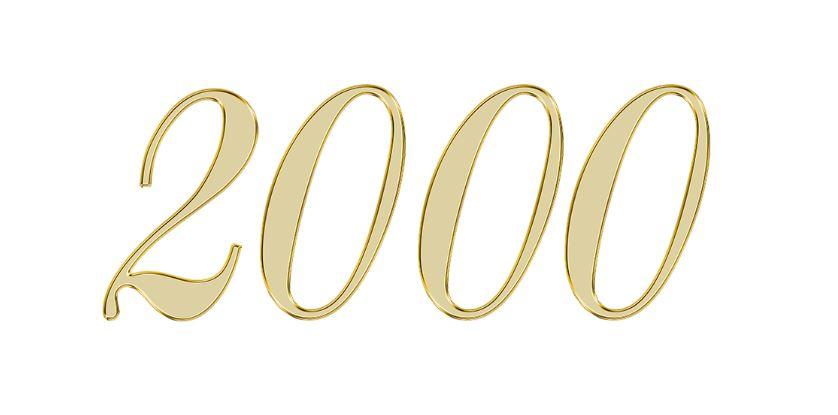 Numerologi 2000: Nummer Betydelse och kärlek
