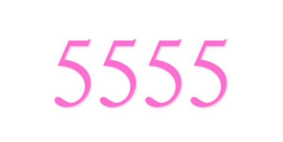 Numerologi 5555