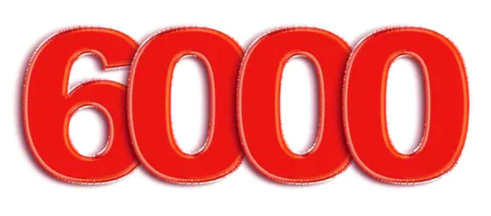 Numerologi 6000