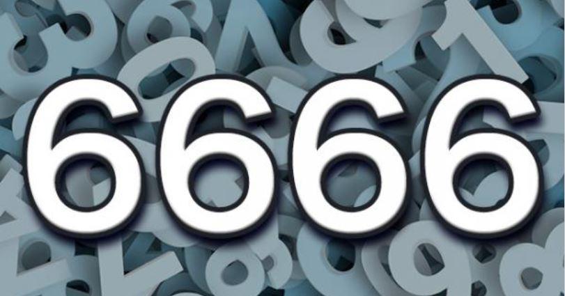 Numerologi 6666