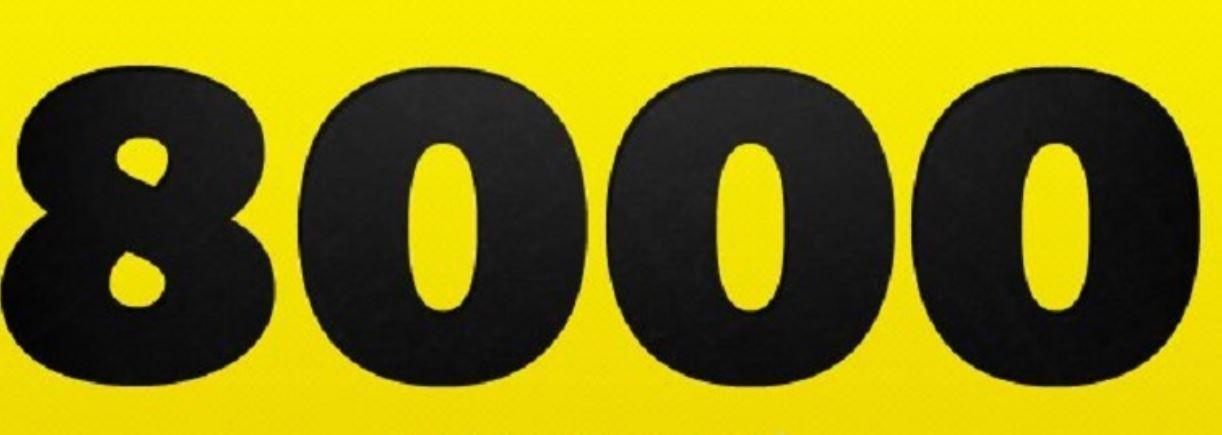 Numerologi 8000