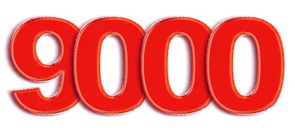 Numerologi 9000