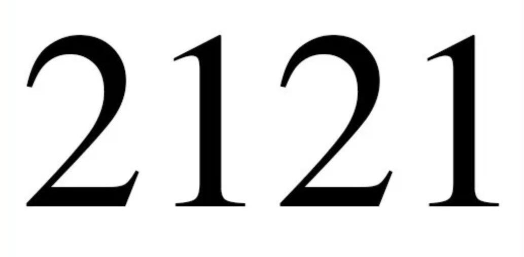 Numerologi 2121
