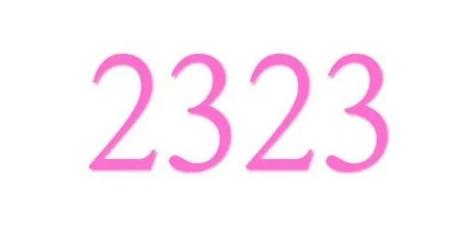 Numerologi 2323