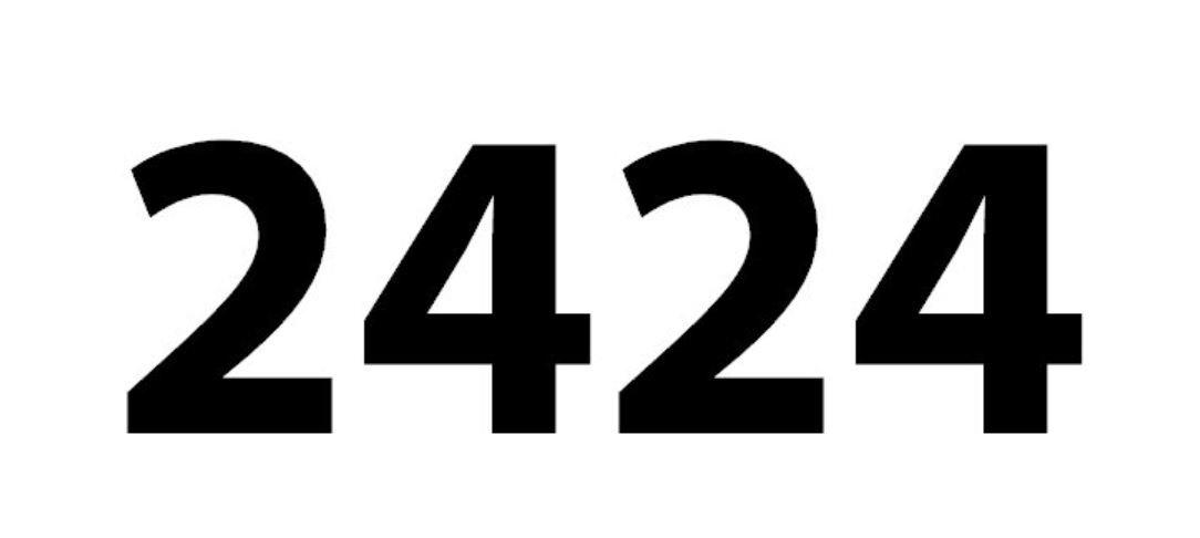 Numerologi 2424
