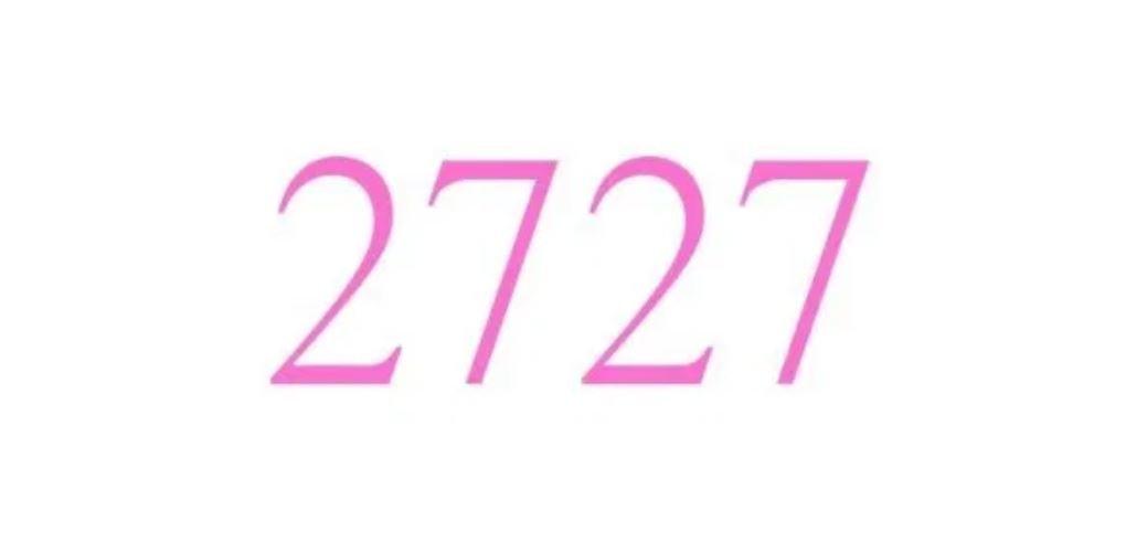 Numerologi 2727