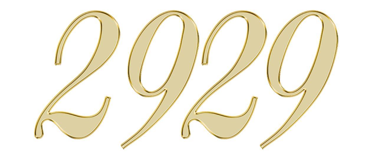 Numerologi 2929