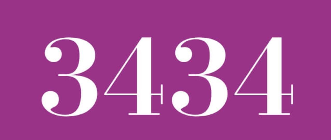 Numerologi 3434