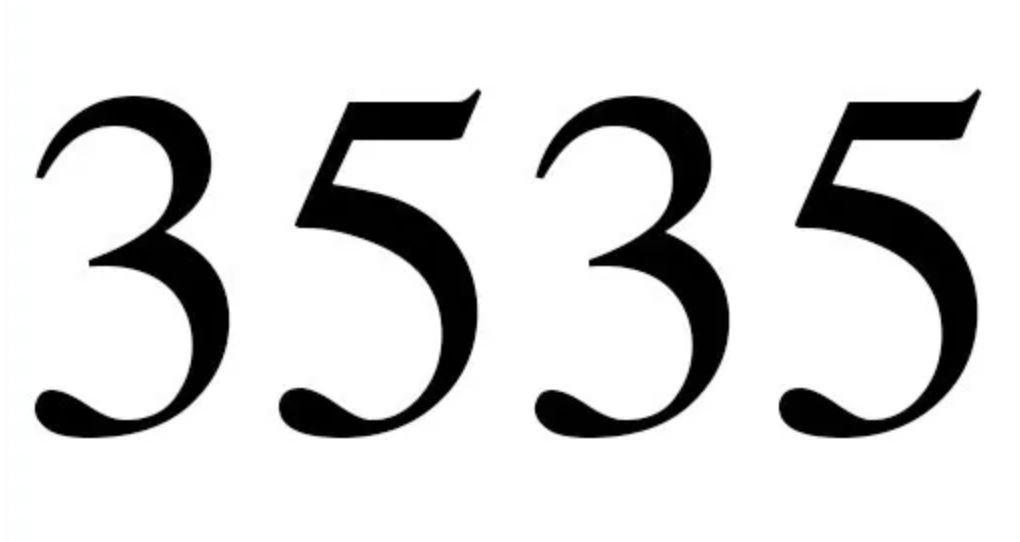 Numerologi 3535