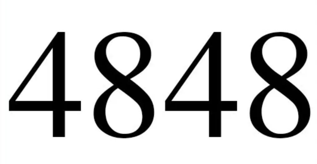 Numerologi 4848