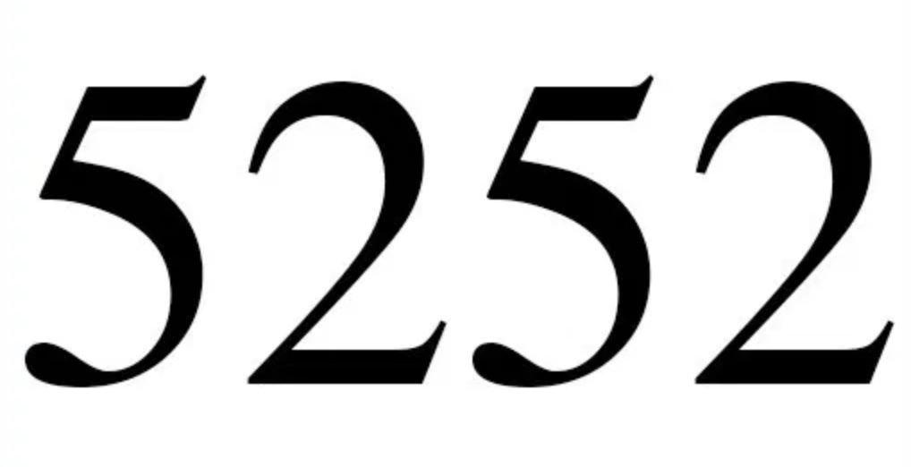 Numerologi 5252