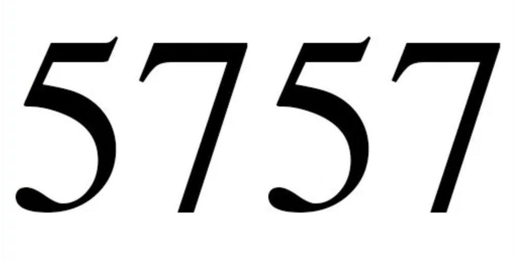 Numerologi 5757