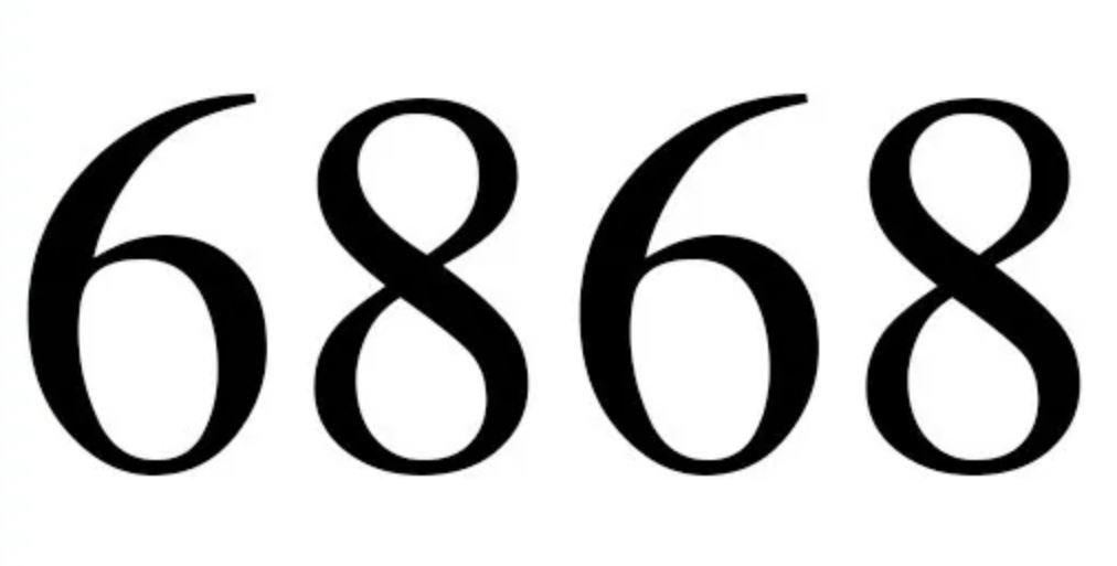 Numerologi 6868
