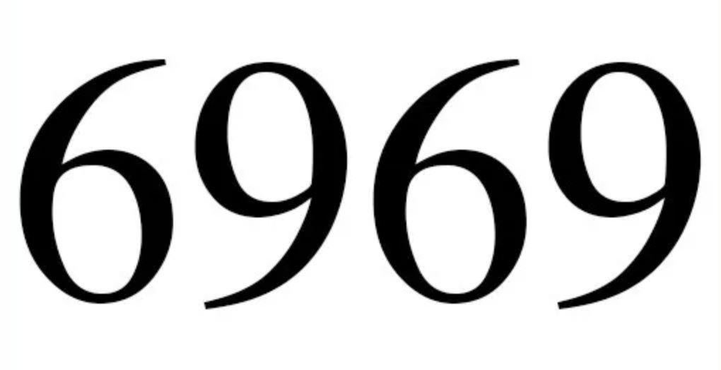Numerologi 6969