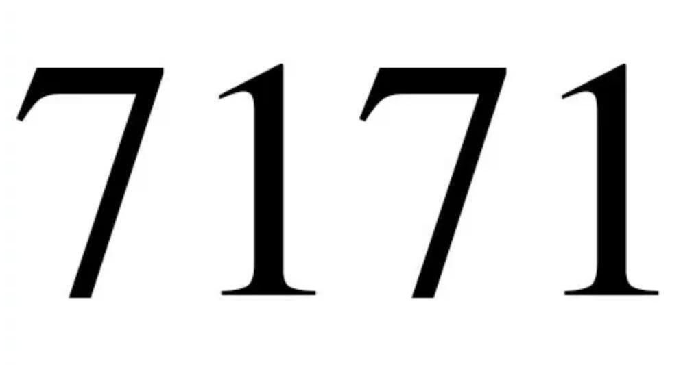 Numerologi 7171