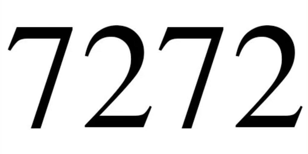 Numerologi 7272