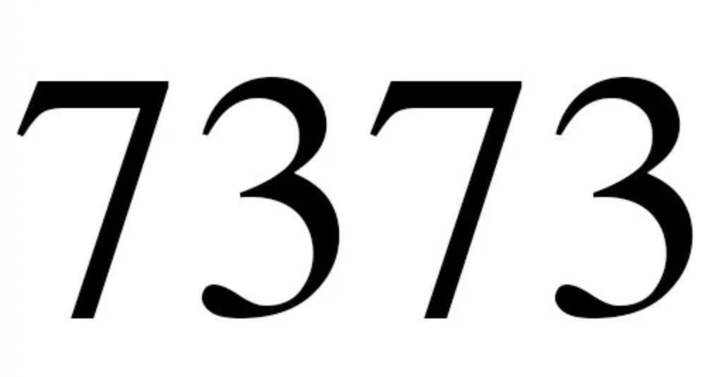 Numerologi 7373
