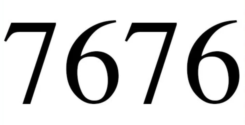 Numerologi 7676