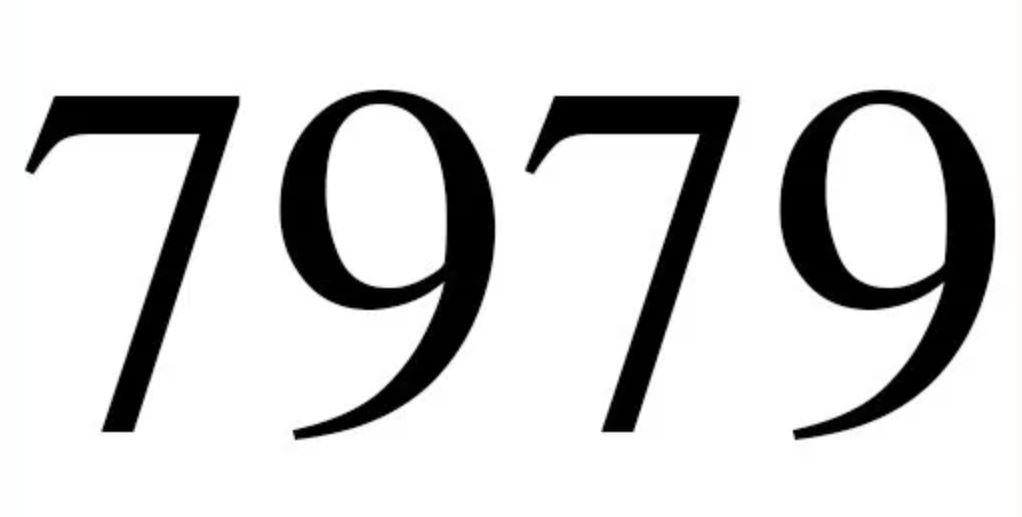 Numerologi 7979