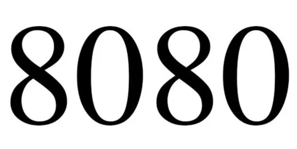 Numerologi 8080