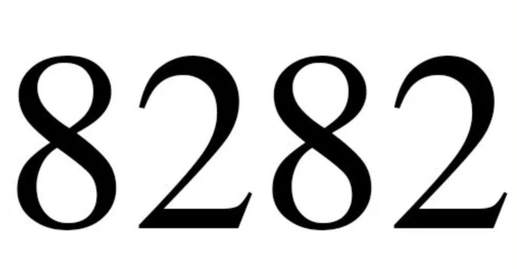 Numerologi 8282