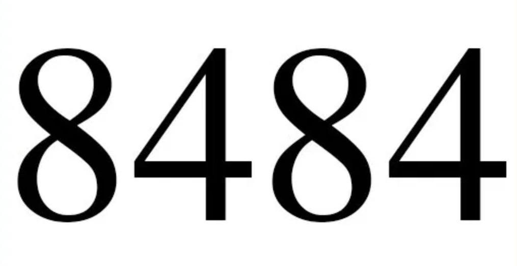 Numerologi 8484