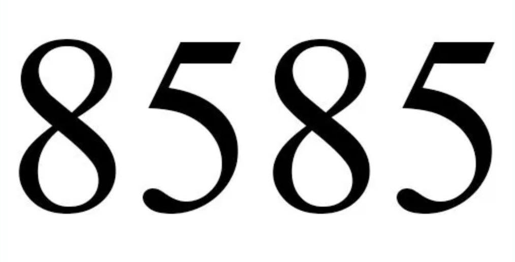 Numerologi 8585