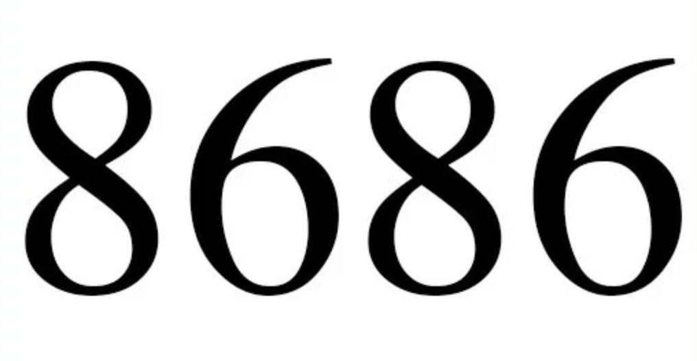 Numerologi 8686