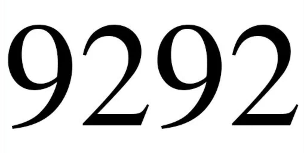 Numerologi 9292