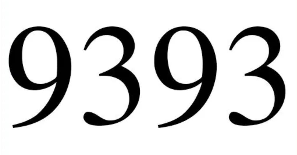 Numerologi 9393