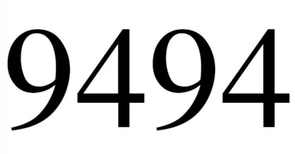 Numerologi 9494