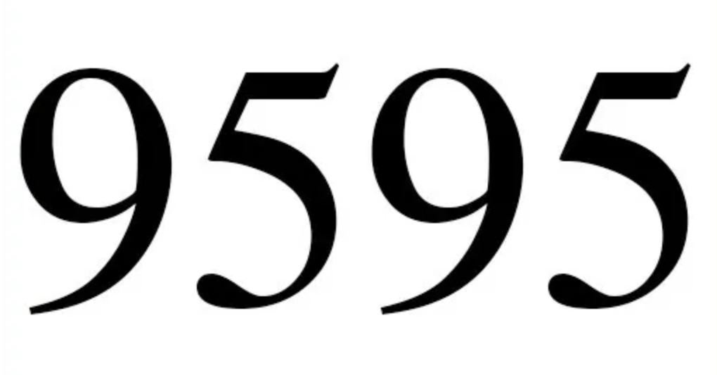 Numerologi 9595
