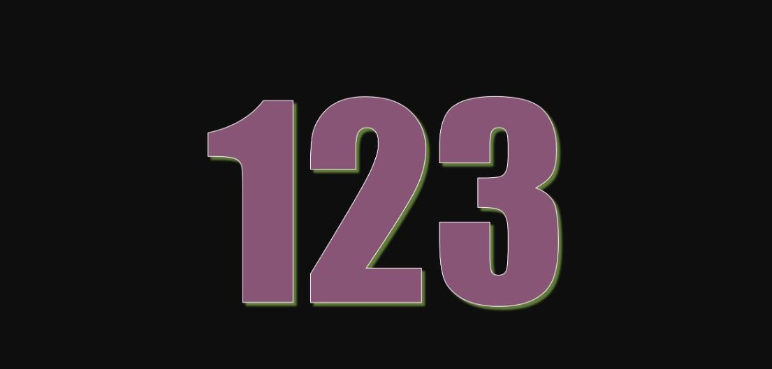 Numerologi 123